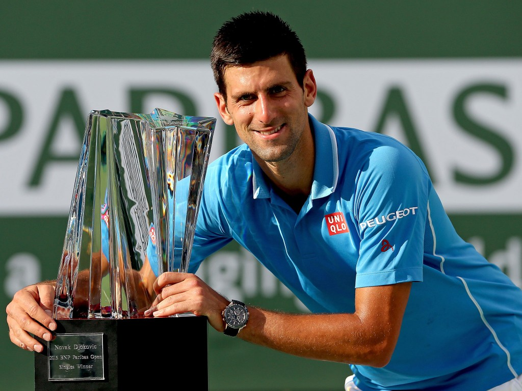 Novak Djokovic-Roger Federer- Indian Wells