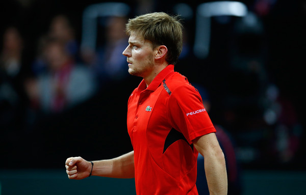 David+Goffin+Belgium+v+Great+Britain+Davis+4fFQSQBLSdPl