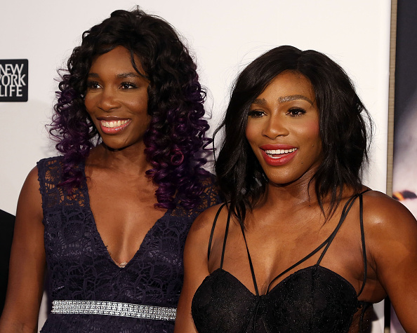 NEW YORK, NY - DECEMBER 15:  Venus and Serena Williams attend the 2015 Sports Illustrated Sportsperson Of The Year Ceremony at Pier Sixty at Chelsea Piers on December 15, 2015 in New York City.  (Photo by Taylor Hill/Getty Images)