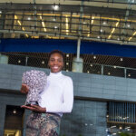 ZHUHAI, CHINA - NOVEMBER 08: Venus Williams of USA with her trophy outside the stadium after winning the final match against Karolina Pliskova of Czech Republic on day 7 of Huajin Securities WTA Elite Trophy Zhuhai at Hengqin Tennis Center on November 8, 2015 in Zhuhai, China. (Photo by Zhong Zhi/Getty Images)