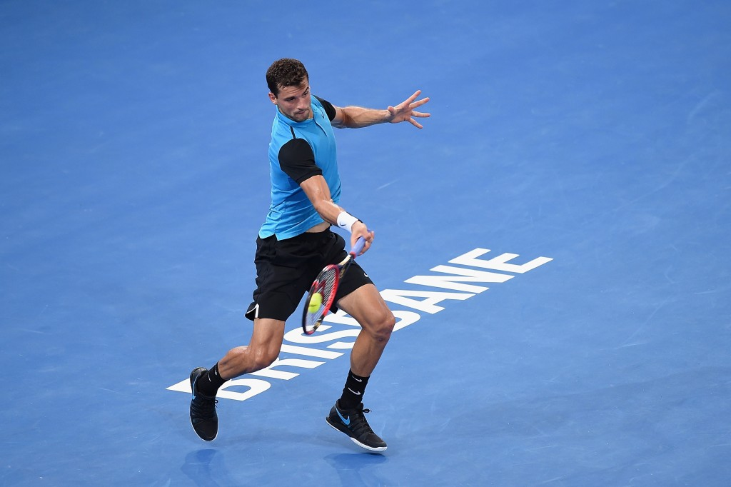 during day two of the 2016 Brisbane International at Pat Rafter Arena on January 4, 2016 in Brisbane, Australia.