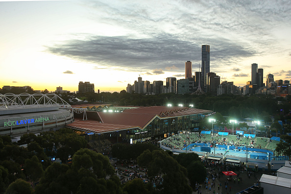 XXXX during day ## of the 2016 Australian Open at Melbourne Park on January 23, 2016 in Melbourne, Australia.