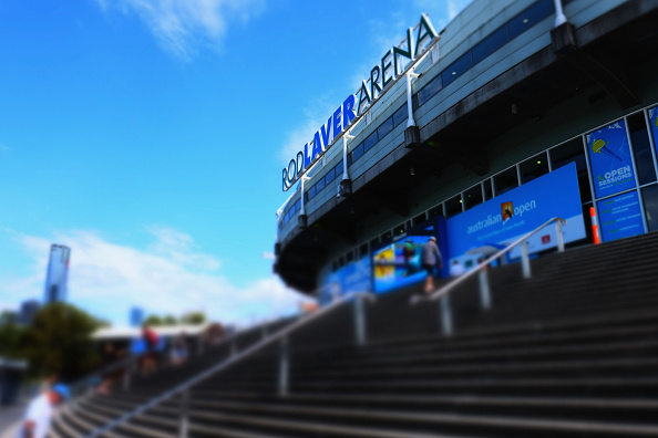 MELBOURNE, AUSTRALIA - JANUARY 27:  (EDITORS NOTE: This image was created with digital filters in camera) General view of Rod Laver Arena during day ten of the 2016 Australian Open at Melbourne Park on January 27, 2016 in Melbourne, Australia.  (Photo by Vince Caligiuri/Getty Images)