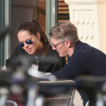 MUNICH, GERMANY - APRIL 24:  (EXCLUSIVE COVERAGE. MINIMUM RATES APPLY - 100 EUROS PER IMAGE.) Bastian Schweinsteiger and Ana Ivanovic sighted at Schumann's on April 24, 2015 in Munich, Germany.  (Photo by A. Palmberger/Getty Images)