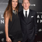 MANCHESTER, ENGLAND - NOVEMBER 29:  Ana Ivanovic and Bastian Schweinsteiger attend the United for UNICEF Gala Dinner at Old Trafford on November 29, 2015 in Manchester, England.  (Photo by Karwai Tang/WireImage)