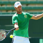 MELBOURNE, AUSTRALIA - MARCH 02:  Lleyton Hewitt captain of Australia plays a forehand during a practice session ahead of the Davis Cup Tie between Australia and the United States at Kooyong on March 2, 2016 in Melbourne, Australia.  (Photo by Robert Prezioso/Getty Images)
