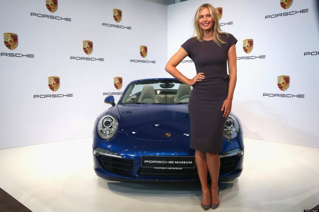 Porsche: Натъжени сме, отлагаме планираните дейности с Шарапова