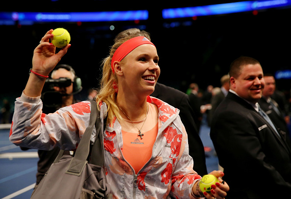 during the BNP Paribas Showdown at Madison Square Garden on March 8, 2016 in New York City.