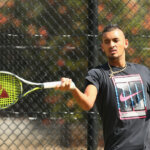 MELBOURNE, AUSTRALIA - MARCH 02:  Nick Kyrgios of Australia plays a forehand during a practice session ahead of the Davis Cup Tie between Australia and the United States at Kooyong on March 2, 2016 in Melbourne, Australia.  (Photo by Robert Prezioso/Getty Images)