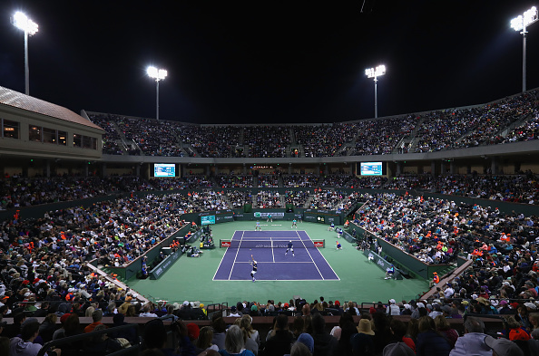 during day six of the BNP Paribas Open at Indian Wells Tennis Garden on March 12, 2016 in Indian Wells, California.