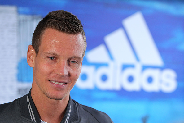 MELBOURNE, AUSTRALIA - JANUARY 14:  Tomas Berdych of the Czech Republic talks to the media during the adidas ACE Case Launch at Crown Entertainment Complex on January 14, 2016 in Melbourne, Australia.  (Photo by Graham Denholm/Getty Images for adidas)