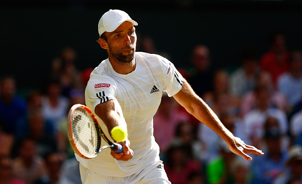 during day seven of the Wimbledon Lawn Tennis Championships at the All England Lawn Tennis and Croquet Club on July 6, 2015 in London, England.