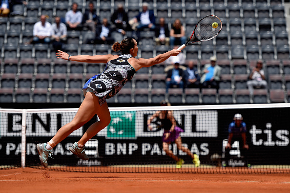 +++ on Day Three of The Internazionali BNL d'Italia 2016 on May 10, 2016 in Rome, Italy.
