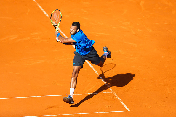 Jo Wilfried Tsonga of France during the day seven of the Monte Carlo Rolex Masters tennis at Monte Carlo on April 16, 2016 in Monaco, Monaco. (Photo by Manuel Blondeau / Icon Sport) (Photo by Manuel Blondeau/Icon Sport via Getty Images)