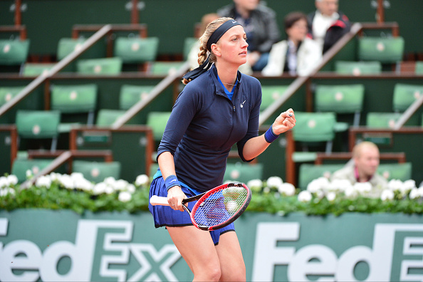 Petra Kvitova during the French Open 2016 on May 22, 2016 in Paris, France. (Photo by Dave Winter/Icon Sport) (Photo by Dave Winter/Icon Sport via Getty Images)