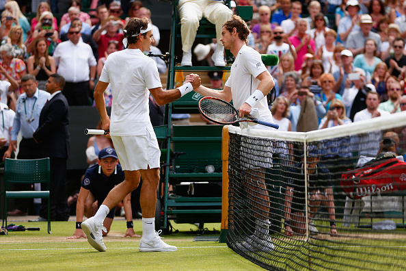during day eleven of the Wimbledon Lawn Tennis Championships at the All England Lawn Tennis and Croquet Club on July 10, 2015 in London, England.
