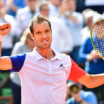 Victory for Richard Gasquet during the Men's Singles third round on day six of the French Open 2016 at Roland Garros on May 27, 2016 in Paris, France. (Photo by Dave Winter/Icon Sport) (Photo by Dave Winter/Icon Sport via Getty Images)