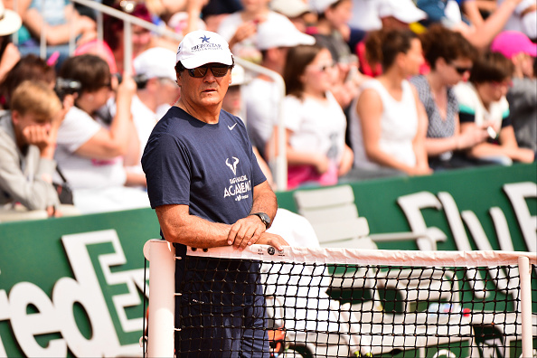 Toni Nadal during the French Open 2016 on May 21, 2016 in Paris, France. (Photo by Dave Winter/Icon Sport) (Photo by Dave Winter/Icon Sport via Getty Images)