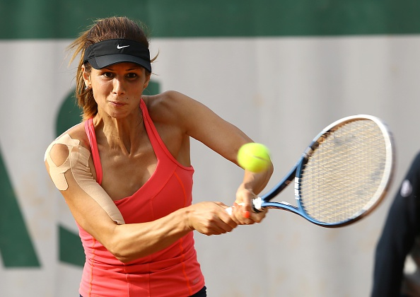 (GERMANY OUT) Foto : Tsvetana Pironkova (BUL)Tennis French Open Paris So. 25.05.2014 (Photo by Bergmann/ullstein bild via Getty Images)