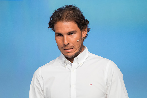 Spanish tennis player Rafael Nadal attend the handover ceremony of the Podium scholarships held in Madrid, Spain, 28 June 2016. Photo: Oscar Gonzalez/NurPhoto (Photo by Oscar Gonzalez/NurPhoto via Getty Images)