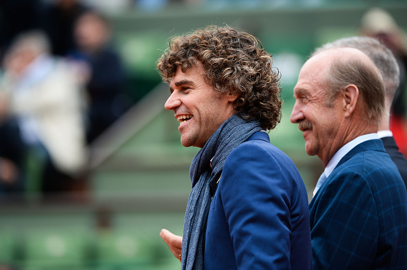 Gustavo Kuerten during the day fourteen of the French Open 2016 at Roland Garros on June 4, 2016 in Paris, France. (Photo by Nolwenn Le Gouic/Icon Sport) (Photo by Nolwenn Le Gouic/Icon Sport via Getty Images)