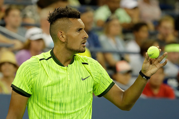 on Day Two of the 2016 US Open at the USTA Billie Jean King National Tennis Center on August 30, 2016 in the Flushing neighborhood of the Queens borough of New York City.
