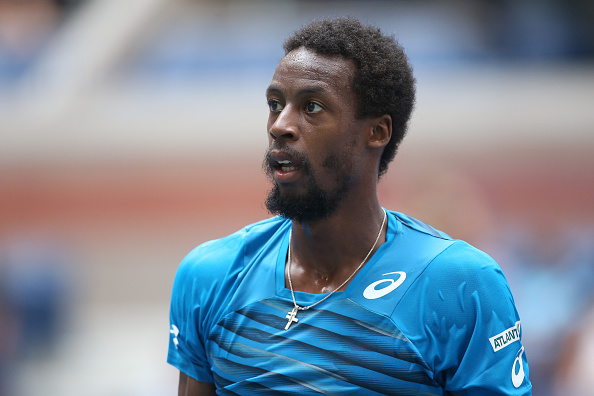 NEW YORK, NY - AUGUST 31: Gael Monfils of France looks on during his second round match on day 3 of the 2016 US Open at USTA Billie Jean King National Tennis Center on August 31, 2016 in New York City. (Photo by Jean Catuffe/Getty Images)