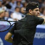 September 1, 2016 - Juan Martin del Potro of Argentina in action against Steve Johnson of the United States during the 2016 US Open at the USTA Billie Jean King National Tennis Center in Flushing, NY.