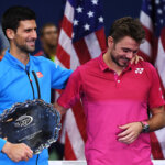 NEW YORK, NY - SEPTEMBER 11:  Stan Wawrinka (R) of Switzerland embraces Novak Djokovic of Serbia after defeating him with a score of 6-7, 6-4, 7-5, 6-3 during their Men's Singles Final Match on Day Fourteen of the 2016 US Open at the USTA Billie Jean King National Tennis Center on September 11, 2016 in the Flushing neighborhood of the Queens borough of New York City.  (Photo by Mike Hewitt/Getty Images)