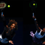 FILE PHOTO (EDITORS NOTE: COMPOSITE OF TWO IMAGES - Image numbers (L) 632625644 and 632340970) In this composite image a comparision has been made between Serena Williams of the United States (L) and Venus Williams of the United States. The Williams sisters play each other in the 2017 Australian Open Women's Final on January 28, 2017 at Melbourne Park.   ****LEFT IMAGE*** MELBOURNE, AUSTRALIA - JANUARY 25: Serena Williams of the Unites States serves in her quarterfinal match against Johanna Konta of Great Britain on day 10 of the 2017 Australian Open at Melbourne Park on January 25, 2017 in Melbourne, Australia. (Photo by Cameron Spencer/Getty Images) ***RIGHT IMAGE*** MELBOURNE, AUSTRALIA - JANUARY 22: Venus Williams of the United States serves in her fourth round match against Mona Barthel of Germany on day seven of the 2017 Australian Open at Melbourne Park on January 22, 2017 in Melbourne, Australia. (Photo by Cameron Spencer/Getty Images)