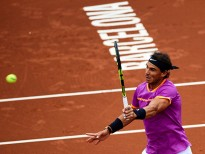 BARCELONA, SPAIN - APRIL 26:  Rafael Nadal of Spain in action at his match against Rogerio Dutra Silva of Brasil during the Day 3 of the Barcelona Open Banc Sabadell at the Real Club de Tenis Barcelona on April 26, 2017 in Barcelona, Spain.  (Photo by fotopress/Getty Images)