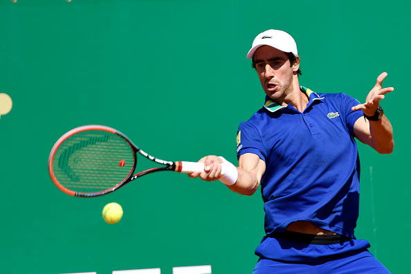 Pablo Cuevas of Uruguay during the Monte Carlo Rolex Masters 2017 on April 17, 2017 in Monaco, Monaco. (Photo by Pascal Della Zuana/Icon Sport)