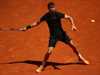 during day three of the Mutua Madrid Open tennis at La Caja Magica on May 8, 2017 in Madrid, Spain.