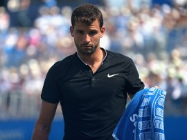 during **** against **** on day three of the 2017 Aegon Championships at Queens Club on June 21, 2017 in London, England.