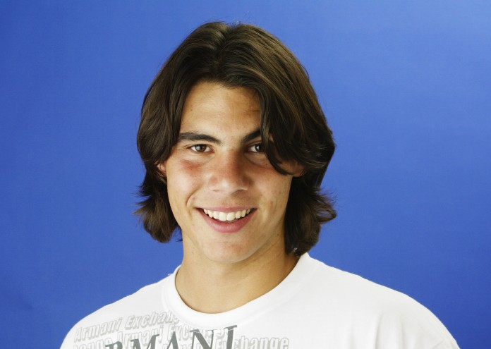 PARIS, FRANCE - MAY 23: Portrait of Rafael Nadal of Spain taken on May 23, 2004 during the French Open Tennis Championships at Roland Garros in Paris, France. (Photo by John Gichigi/Getty Images)