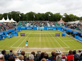 BIRMINGHAM, ENGLAND - JUNE 16:  General View during day six of the AEGON Classic at Edgbaston Priory Club on June 16, 2012 in Birmingham, England. (Photo by Jan Kruger/Getty Images)