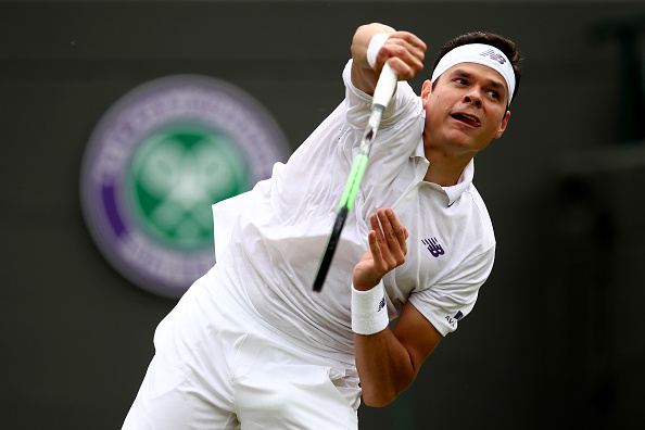 xxx on day two of the Wimbledon Lawn Tennis Championships at the All England Lawn Tennis and Croquet Club on July 4, 2017 in London, England.