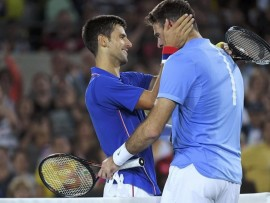 2016 Rio Olympics - Tennis - Preliminary - Men s Singles First Round - Olympic Tennis Centre - Rio de Janeiro  Brazil - 07 08 2016  Novak Djokovic  SRB  of Serbia reacts after losing his match against Juan Martin Del Potro  ARG  of Argentina  REUTERS Toby Melville FOR EDITORIAL USE ONLY  NOT FOR SALE FOR MARKETING OR ADVERTISING CAMPAIGNS