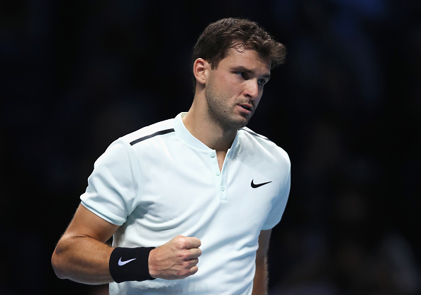 during day two of the Nitto ATP World Tour Finals at O2 Arena on November 13, 2017 in London, England.
