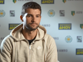 Grigor Dimitrov Press