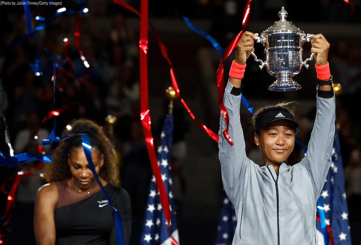 Naomi Osaka Serina Williams 2