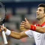 Tennis - Shanghai Masters - Shanghai, China - October 9, 2018 - Novak Djokovic of Serbia celebrates his win against Jeremy Chardy of France. REUTERS/Aly Song