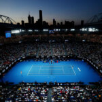 MELBOURNE, AUSTRALIA - JANUARY 24:  General view of Rod Laver Arena during the Men's Singles Semi Final between Rafael Nadal of Spain and Stefanos Tsitsipas of Greece during day 11 of the 2019 Australian Open at Melbourne Park on January 24, 2019 in Melbourne, Australia.  (Photo by Michael Dodge/Getty Images)