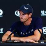 MELBOURNE, VIC - JANUARY 11: ANDY MURRAY (GBR) during day practice day of the 2019 Australian Open on January 11, 2019 at Melbourne Park Tennis Centre Melbourne, Australia (Photo by Chaz Niell/Icon Sportswire via Getty Images)