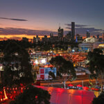 MELBOURNE, AUSTRALIA - JANUARY 15: A general view of Melbourne Park during day two of the 2019 Australian Open at Melbourne Park on January 15, 2019 in Melbourne, Australia.  (Photo by Scott Barbour/Getty Images)