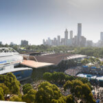 MELBOURNE, AUSTRALIA - JANUARY 19: General view of crowds during day six of the 2019 Australian Open at Melbourne Park on January 19, 2019 in Melbourne, Australia. (Photo by Vince Caligiuri/Getty Images for Tennis Australia)