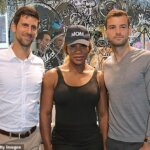 Grigor Dimitrov Serena Williams Novak Djokovic
