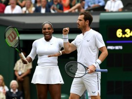 Andy Murray Serina Williams