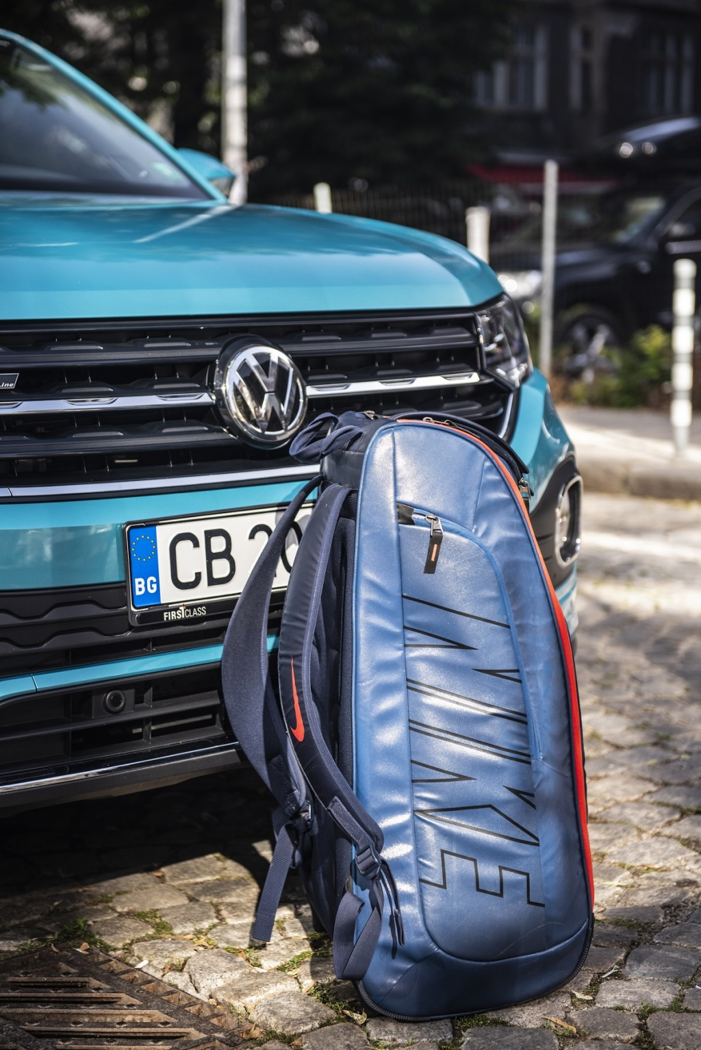 Тест-драйв на Volkswagen T-Cross с цвят на море