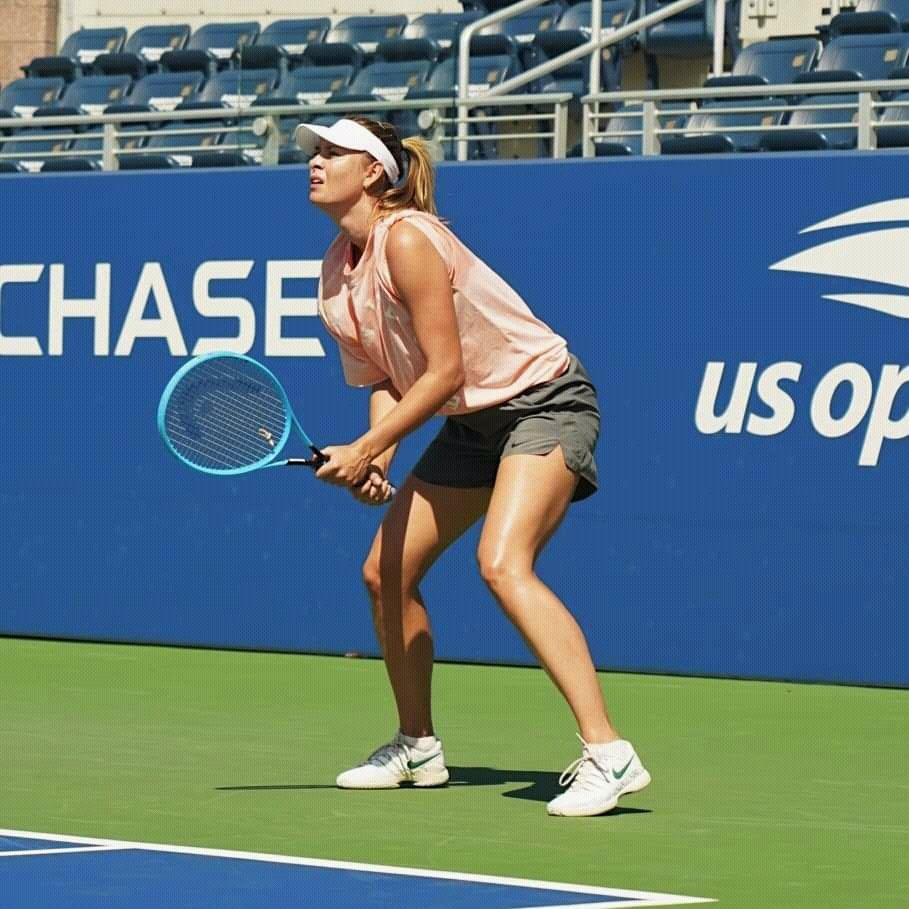 Maria Sharapova, US Open 2019